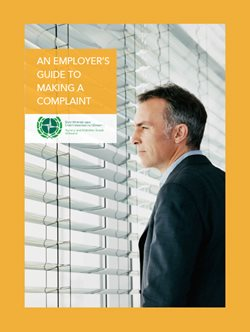 employers guide to making a complaint cover