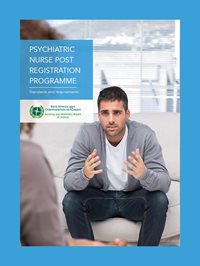 psychiatric nurse post registration programme cover