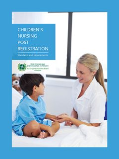 children's nursing post registration cover